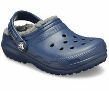Crocs Size C5 C 5 Blue Cloth Lined Clogs New Toddler  Sandals