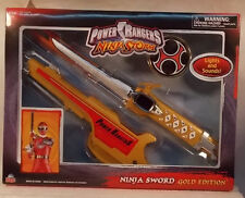 Power Rangers Ninja Storm - Ninja Sword Gold Edition w/Lights & Sounds  (MISB)