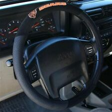 CHICAGO BEARS BLACK MESH CAR AUTO STEERING WHEEL COVER NEW FREE SHIPPING