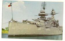Battleship Texas Ship Postcard San Jacinto Houston TX