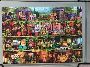 ravensburger 1000 piece jigsaw puzzles used. Sadly 2 pieces missing
