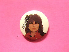 PRETENDERS VINTAGE BUTTON BADGE PIN UK IMPORT