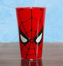 Marvel Comics SPIDERMAN Drinking GLASS 450ml Spider-Man Red