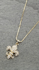 FLEUR DE LIS - SAINTS -  NECKLACE GOLD