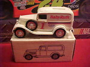 1932 JEFF GORDON #1 BABY RUTH 1/25 ERTL FORD PANEL DELIVERY BANK #729 OF 1008