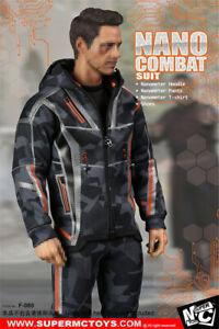 1/6 Nano Combat Jacket Suit Set F-080 For Iron Man Infinity War Tony Stark