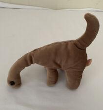 Vintage Cuddle Wiz Plush Stuffed Brown Sweet Dinosaur Brontosaurus ? 10�