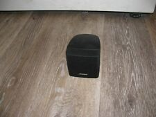 New listing Bose Lifestyle Acoustimass Single Cube Surround Sound Speakers Black used