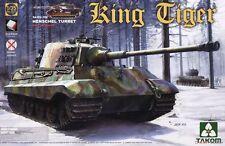 1/35 Takom German Hvy Tank King Tiger Henschel Gun Turret (with Interior) #2073