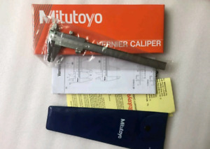 Mitutoyo 530-104  Vernier Caliper Metric Inch Range 0-150mm 0-6in 0.02mm
