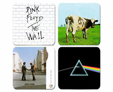 Pink Floyd Darkside The Wall Wish You Were Here Coaster Set Of 4 Neoprene