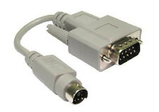 15cm DB9 RS232 Serial Mouse Adapter cable DB9 Male to MD6 Male DB9M - MD6M 0.15m