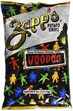 Zapp's Potato Chips- New Orleans Kettle Style VooDoo, 5oz (4 Pack)