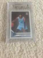 2019-20 Panini Donruss Optic Ja Morant RC ROOKIE CARD MEMPHIS GRIZZLIES BGS 9!🔥