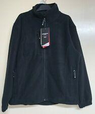 NEW Mens Zip Up Fleece Jacket Original Light Plus Size  Work Top RRP £45(BR163)
