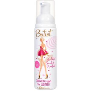 Bilka Batist Shaving Foam for Woman Aloe & D-phantenol Soothing Hydrating 100 ml