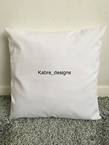 """1 NEW 12"""" PLAIN WHITE COTTON CUSHION COVER OTHER COLOURS SIZES AVAILABLE"""