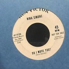 Nina Simone Day And Night Do I Move You? 45 Promo nice Soul Breaks