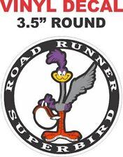 1 Plymouth Super Bird Round Vinyl Decal