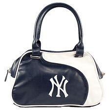New York Yankees Women's Perf-ect Bowler Bag MLB Authentic Little Earth NIB