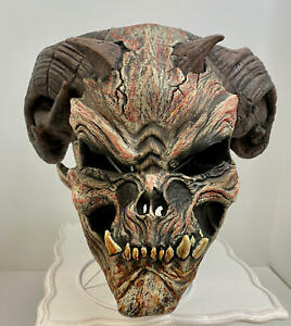 Rubies Cave Demon Mask Adult~Scary Halloween Accessory~Dress Up