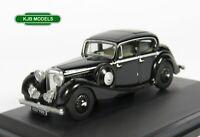 BNIB OO GAUGE OXFORD 1:76 76JSS002 Black Jaguar SS 2.5 Saloon Car