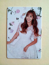 SNSD Girls' Generation 2016 GREETINGS CALENDAR [ OFFICIAL ] PhotoCard - Yuri