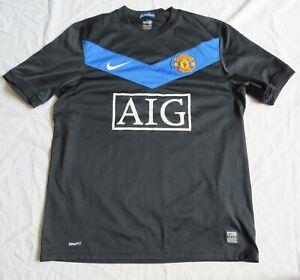 MANCHESTER UNITED Nike Away Shirt 2009/10 (M)