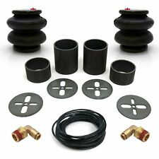 Universal Rear Air Bag Bracket Kit with 2600lb Air Bags, Line & Fittings