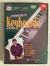 Watch & Learn: Introduction to Keyboards for Beginners (NEW SEALED DVD)