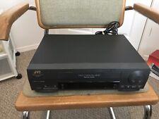 JVC Model HR-A47U VCR Pro-Cision 19 Micron DA 4-Head SQPB Tested