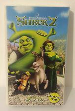 SHREK 2 - ISRAEL VHS PAL (children) English speaking / Hebrew titles 2004