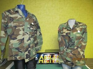 US ARMY BDU SHIRT TOP OR PANTS UNIFORM RIPSTOP HOT WEATHER USED XSM - L