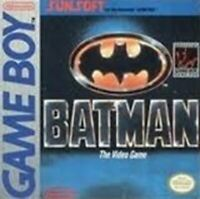Batman - Authentic Nintendo GameBoy Game