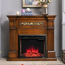 Home Office Fireplace Electric Embedded Remote Control High-quality 750-1500W US