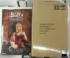 Sideshow BUFFY Throne of the SLAYER ~ Figure STATUE w/Shipper BTVS MIB Vampire