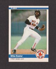 1984 Fleer Update #U-33 MIKE EASLER Red Sox MINT