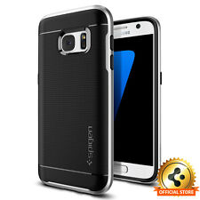 [Spigen Outlet] Samsung Galaxy S7 Case [Neo Hybrid] Satin Silver Bumper Cover
