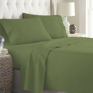 Egyptian Cotton Gorgeous Moss Bedding Collection 1000 TC Select Item & Pattern