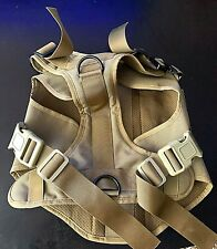 New listing Tactical Dog harness K9 Molle Vest with Handle No Pulling Front Clip Xl
