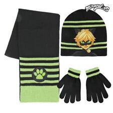Ladybug Cat gorro bufanda guantes