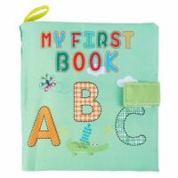 Soft Baby Cloth Book Early Educational Newborn Crib Toys for 0-36 Months In S1Y7