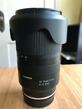 Tamron 28-75mm f/2.8 Di III RXD Lens for Sony E Mount - Includes HGX Prime Filte