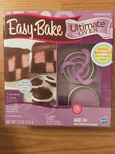 EASY BAKE Ultimate Oven Checker Cake Kit 30263/30262 NIB Mixes And Pan Rings