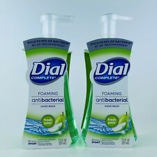 2-Pack Dial Complete Fresh Pear Foaming Liquid Hand Soap 7.5 oz Kills Bacteria