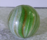 #11338m Bigger .77 Inches German Handmade Onionskin Lutz Marble