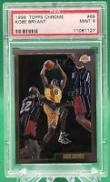 1998-99 Topps Chrome Kobe Bryant #68 Los Angeles Lakers 🏦 PSA 9 🏦 HOF