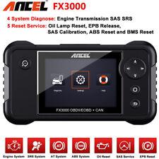 Automotive OBD2 Scanner Check Car Engine Transmission SRS ABS Reset ANCEL FX3000
