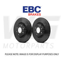EBC 240mm Standard Rear Discs for VAUXHALL Meriva 1.4 2004-2010 D898