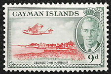 Cayman Islands Stamp 1950 9d King George VI Scott # 130 SG143 MINT OG LH-H